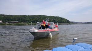 Bootsgewöhnung mit der DLRG Furth im Wald
